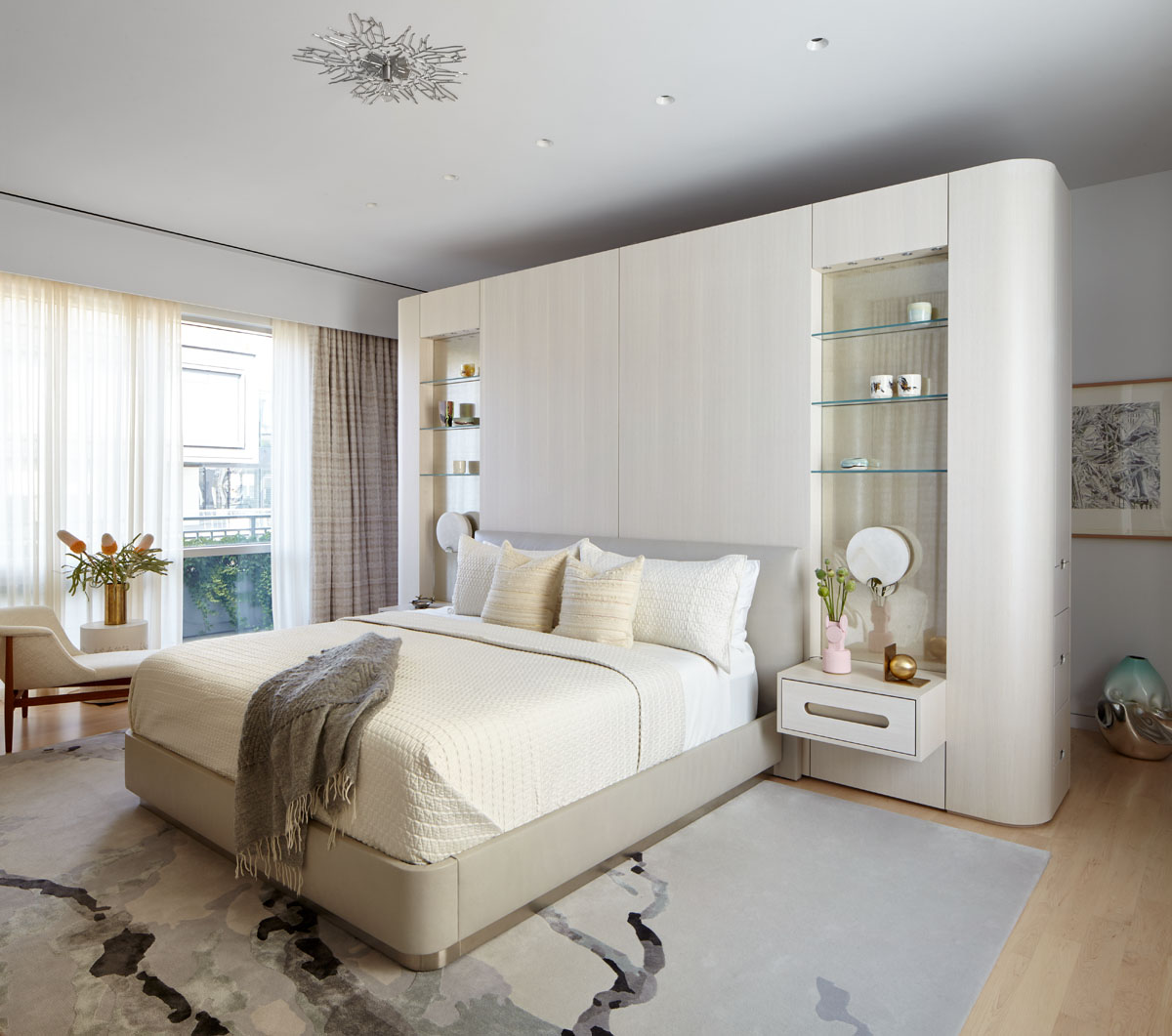 18th Street Triplex Master Bedroom