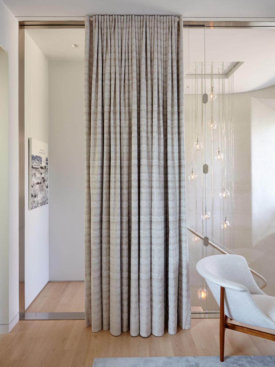 18th Street Triplex Master Bedroom Door to Stairs