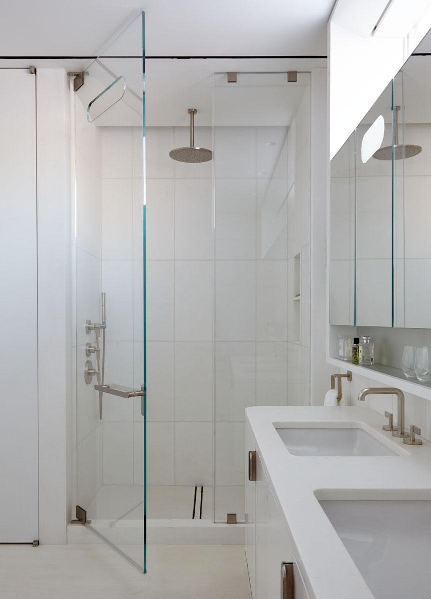 18th Street Triplex Master Bathroom Shower