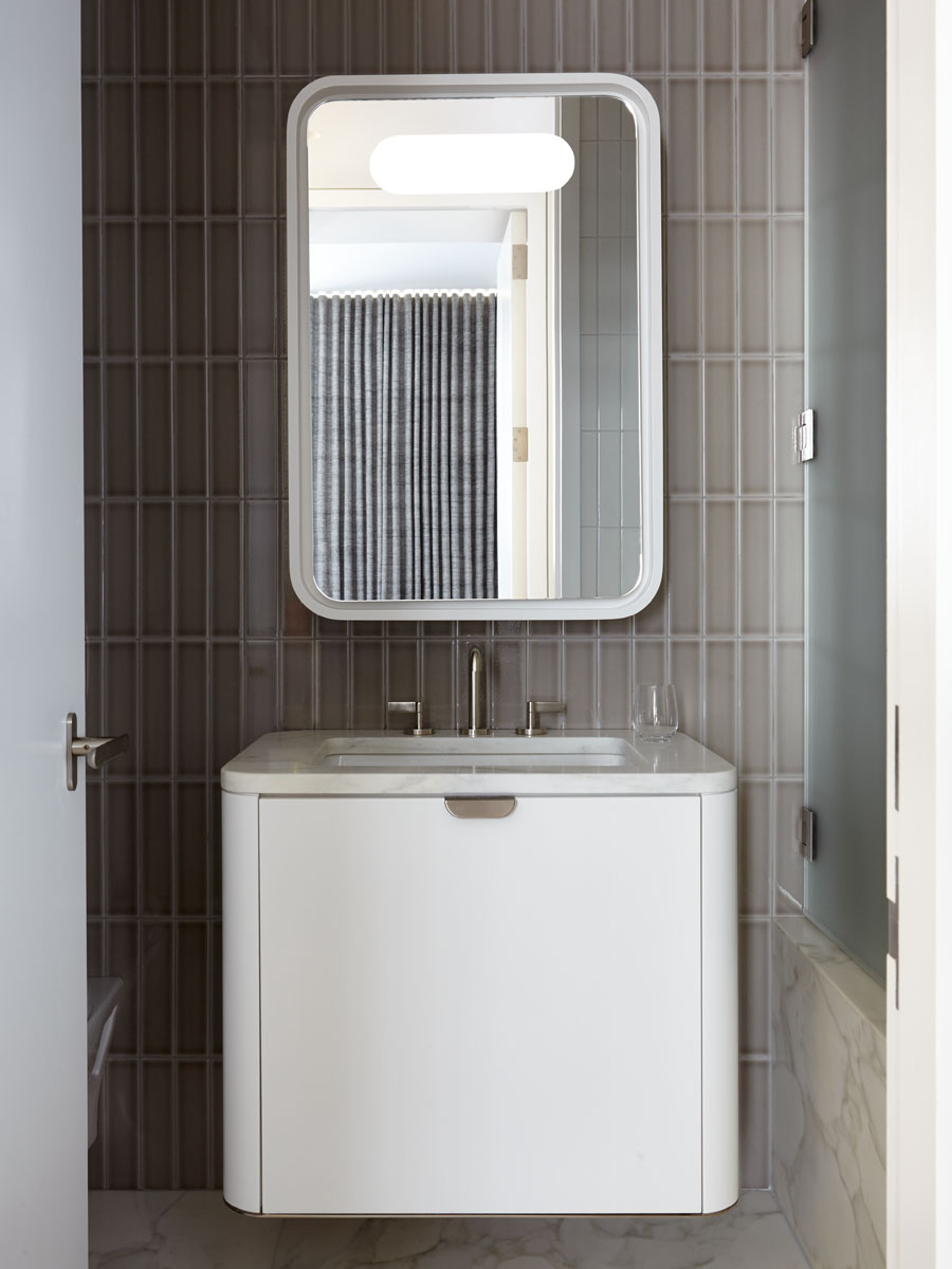 18th Street Triplex Guest Bathroom