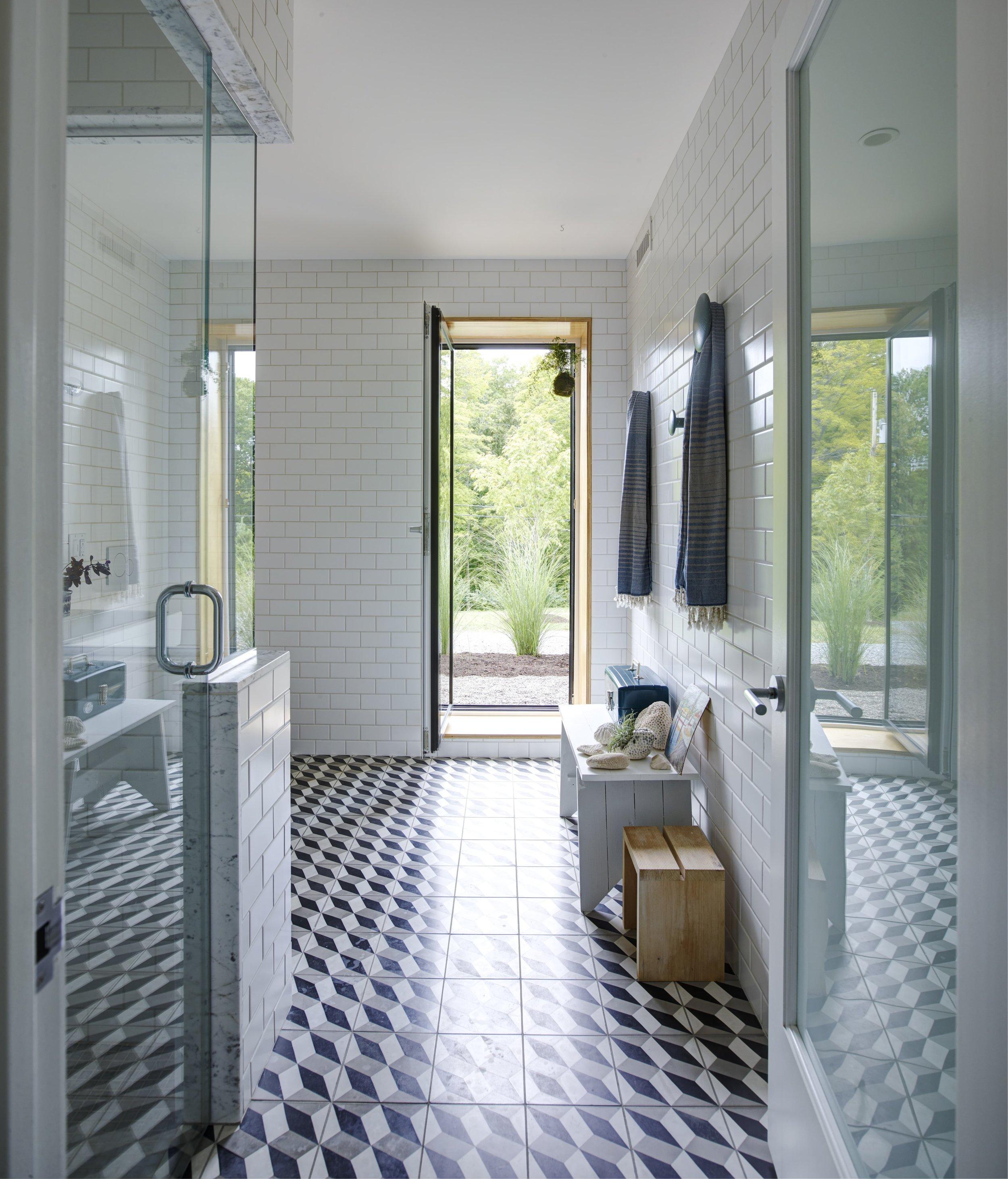 Overlook House Master Bathroom
