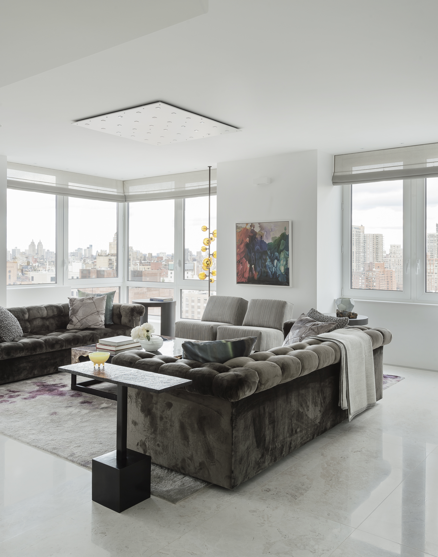 East 77th Street Apartment Living Room