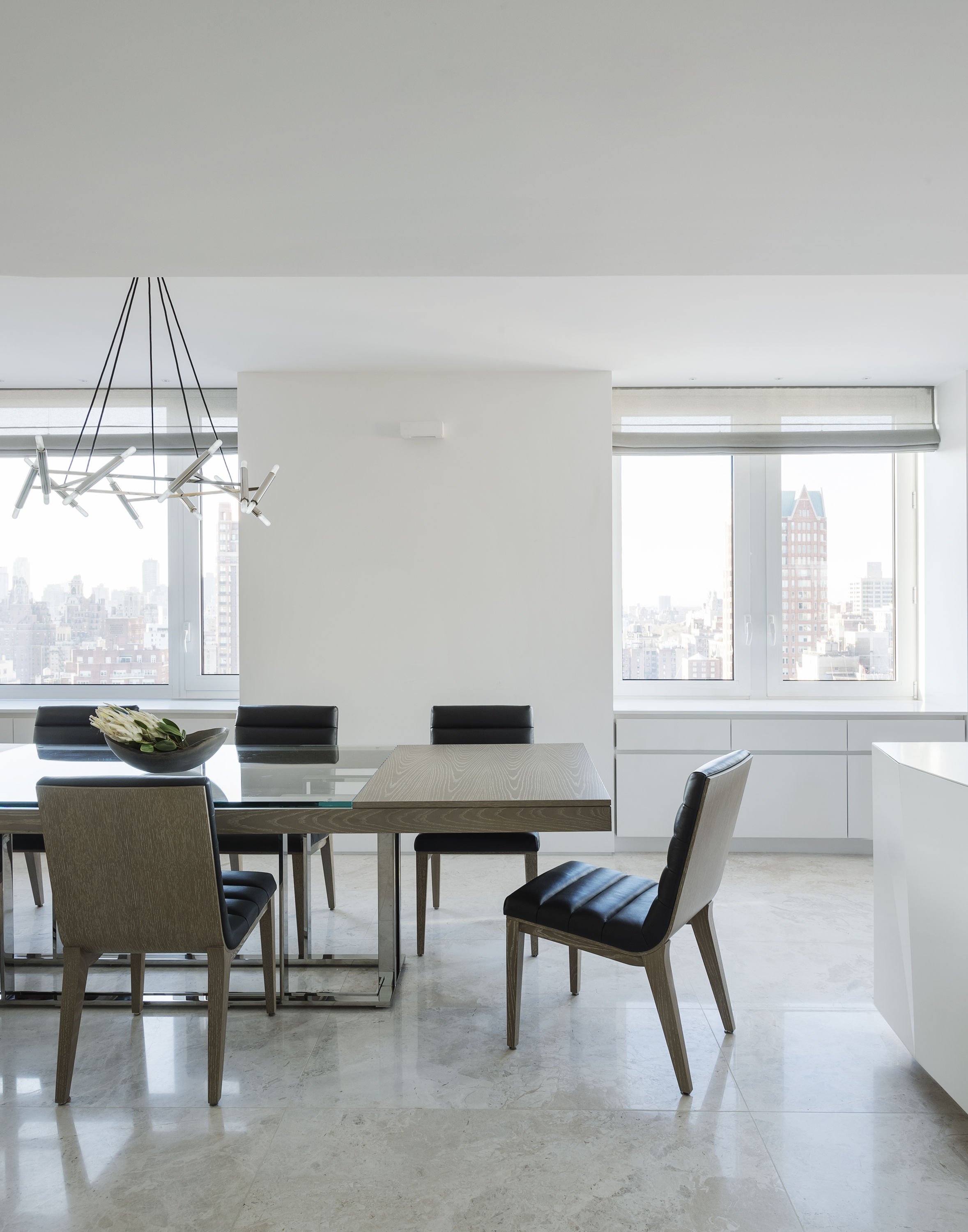 East 77th Street Apartment Dining Room Table