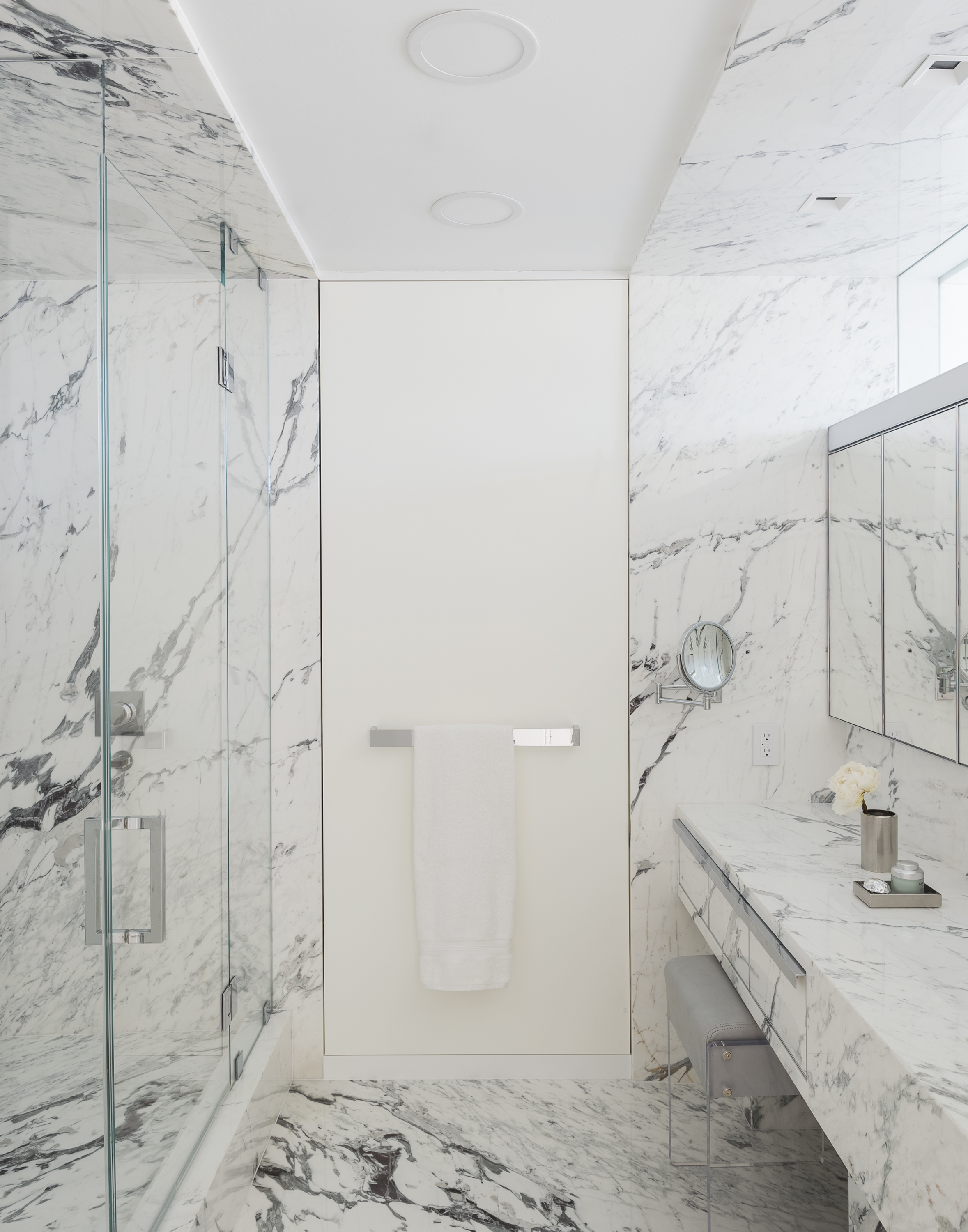 East 77th Street Apartment Her Bathroom