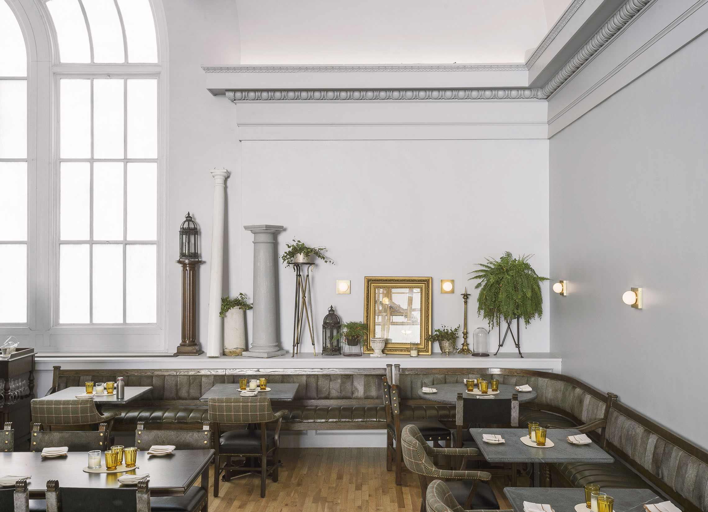 A Rake's Progress Restaurant Seating Corner
