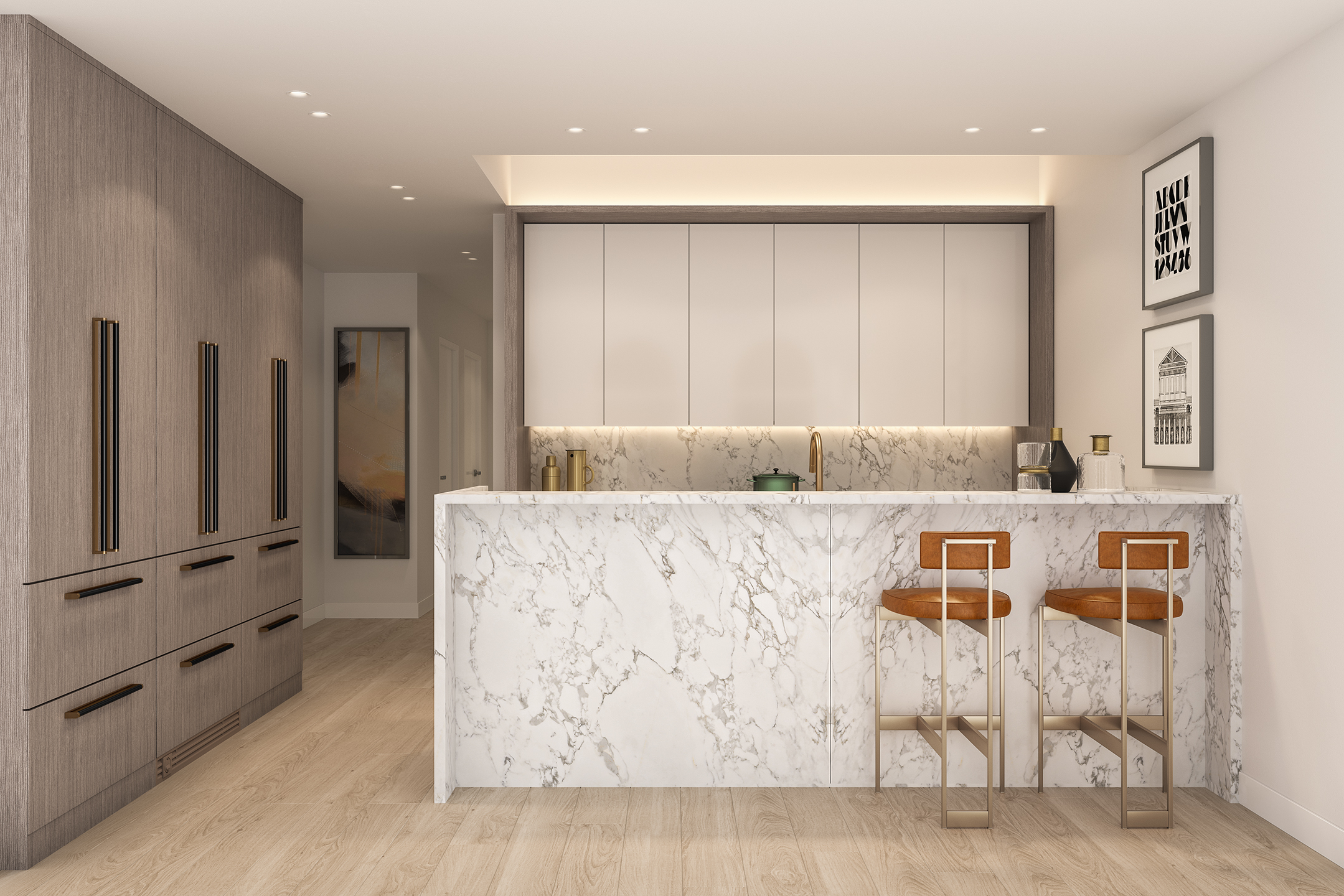 Parlour Brooklyn Kitchen Rendering