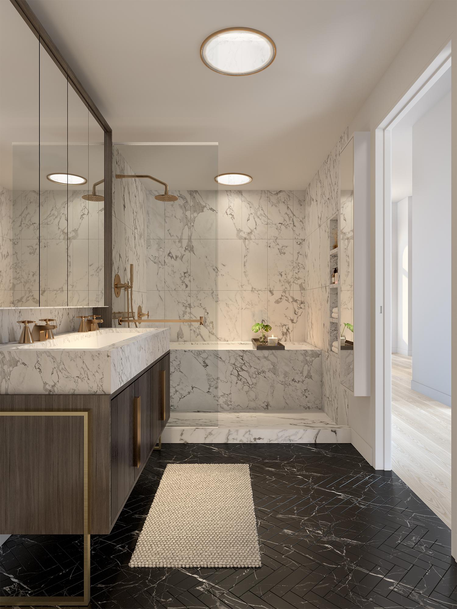 Parlour Brooklyn Penthouse Master Bathroom