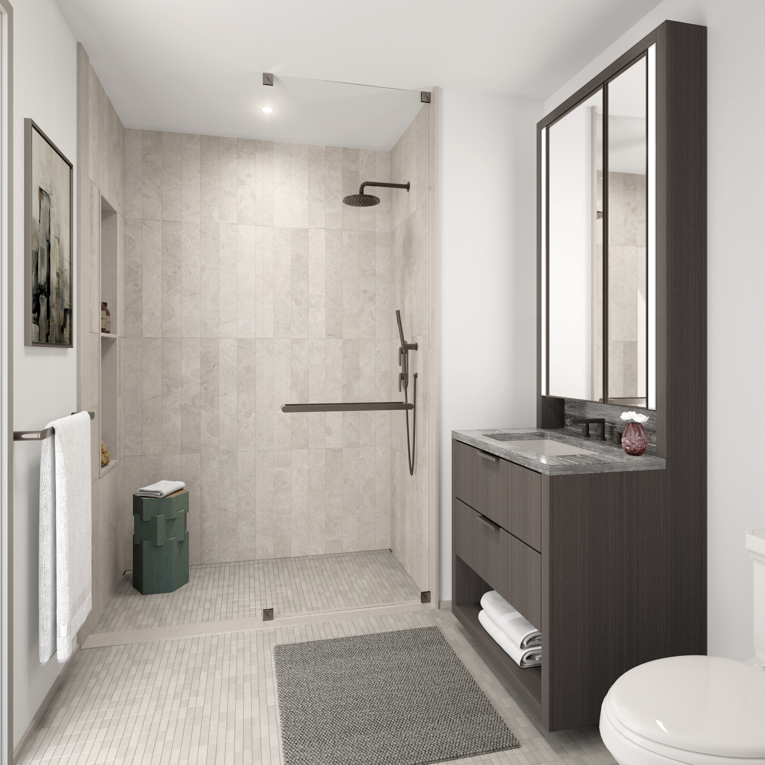 Vandewater Bathroom Rendering