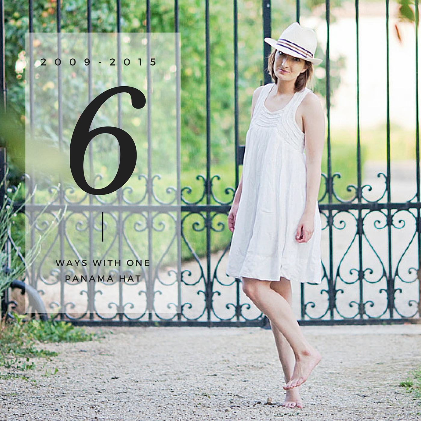 Panama Hat Fashion Blogger 1