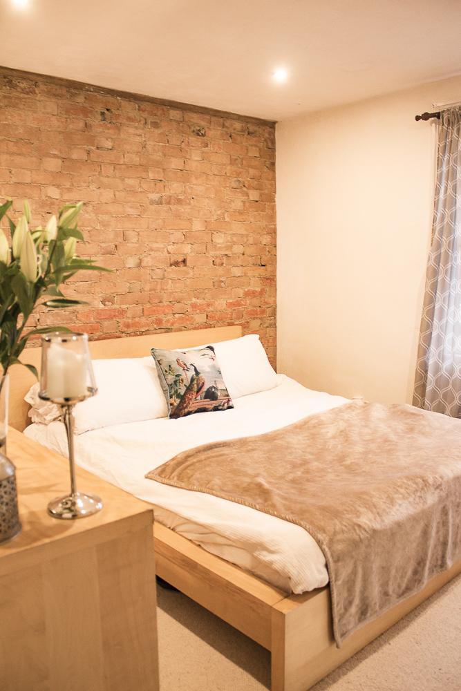 Victorian terrace renovation guest room 1