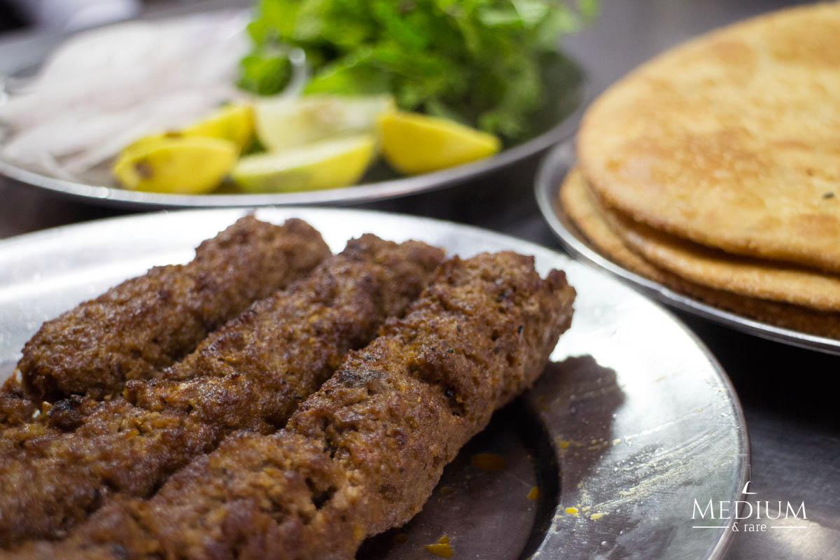 Paratha & Kebab at Nawab Kebab