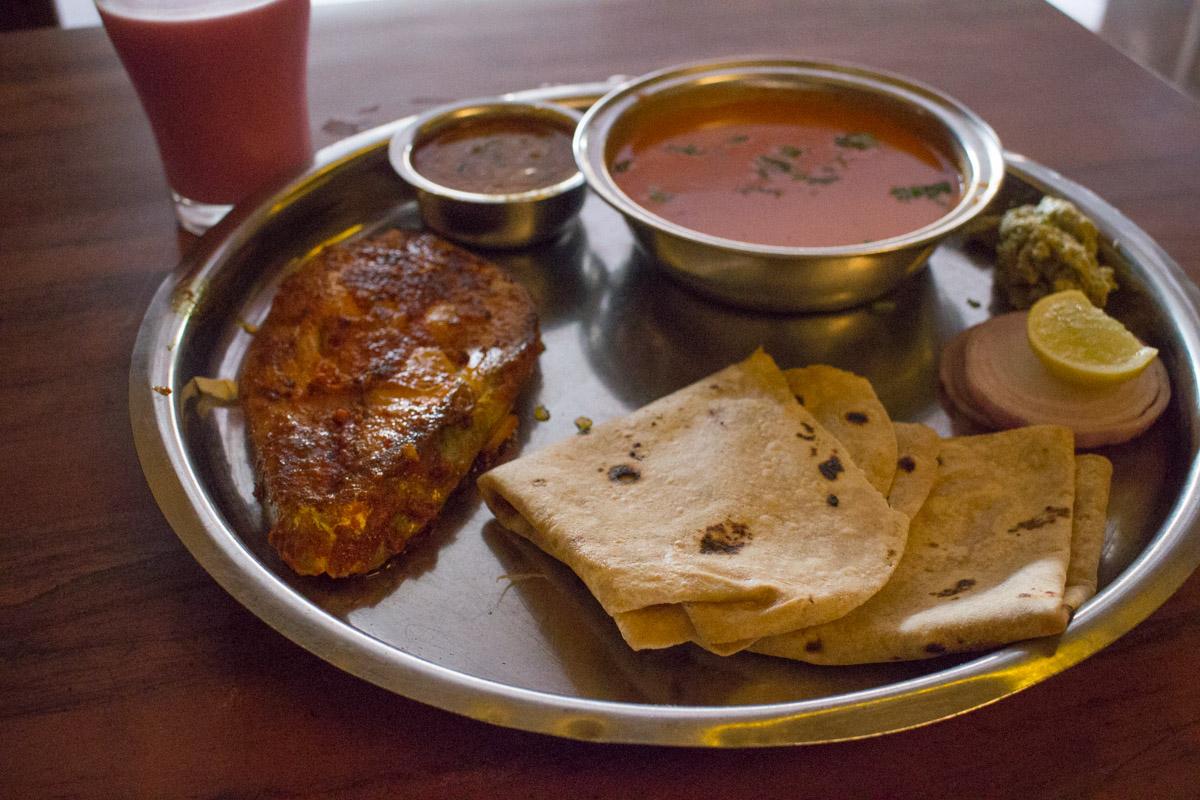 Tava Surmai Thali at Ratnagiri