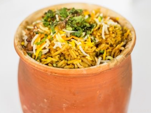 Murg Dum Biryani at Khane Khas                                                             (Image Courtesy : Swiggy)