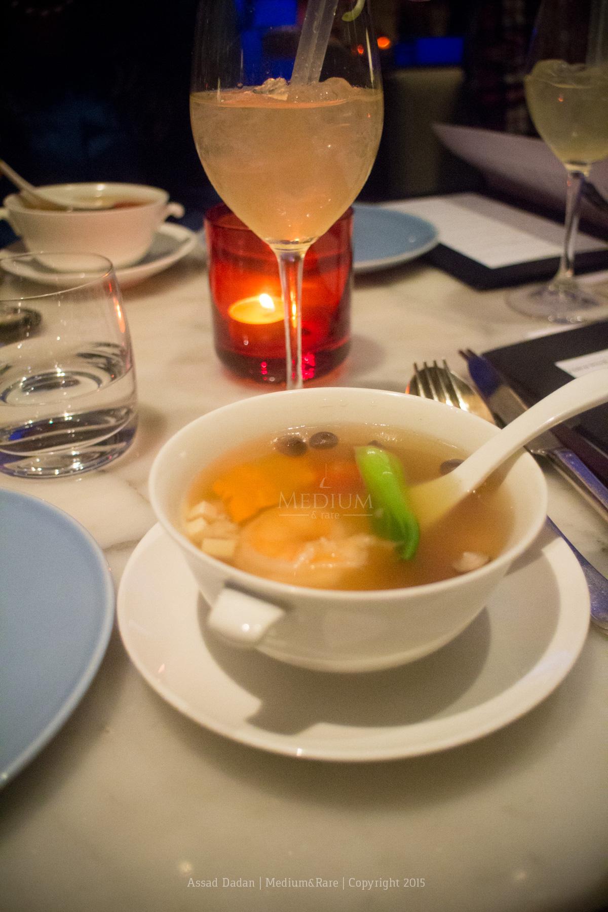 Prawns & Scallop Soup