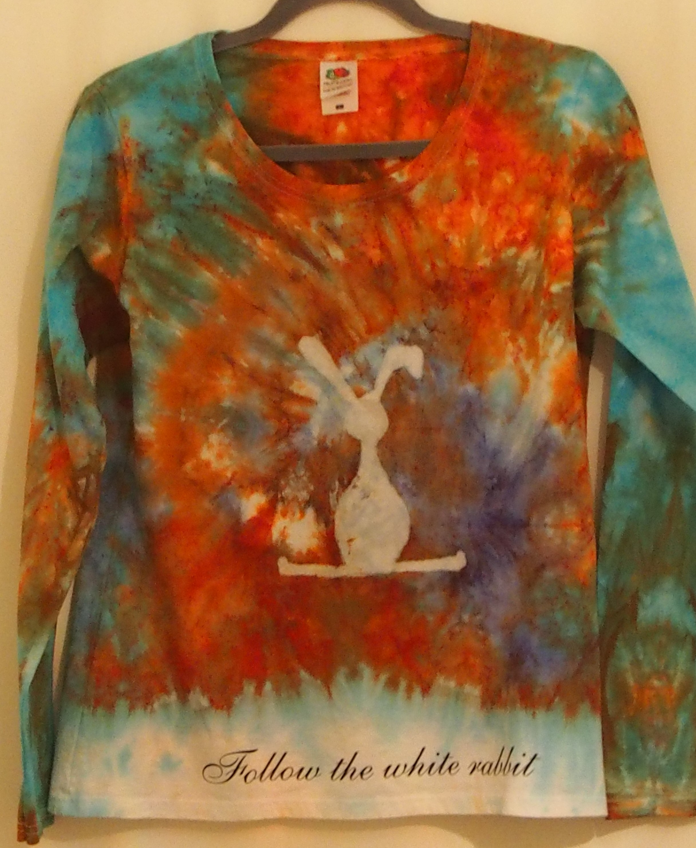 Follow the White Rabbit (long sleeve)