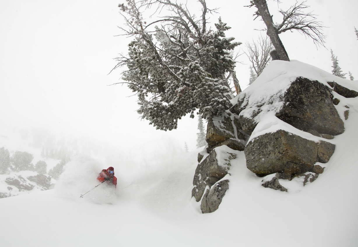 Montana's best deep backcountry powder.