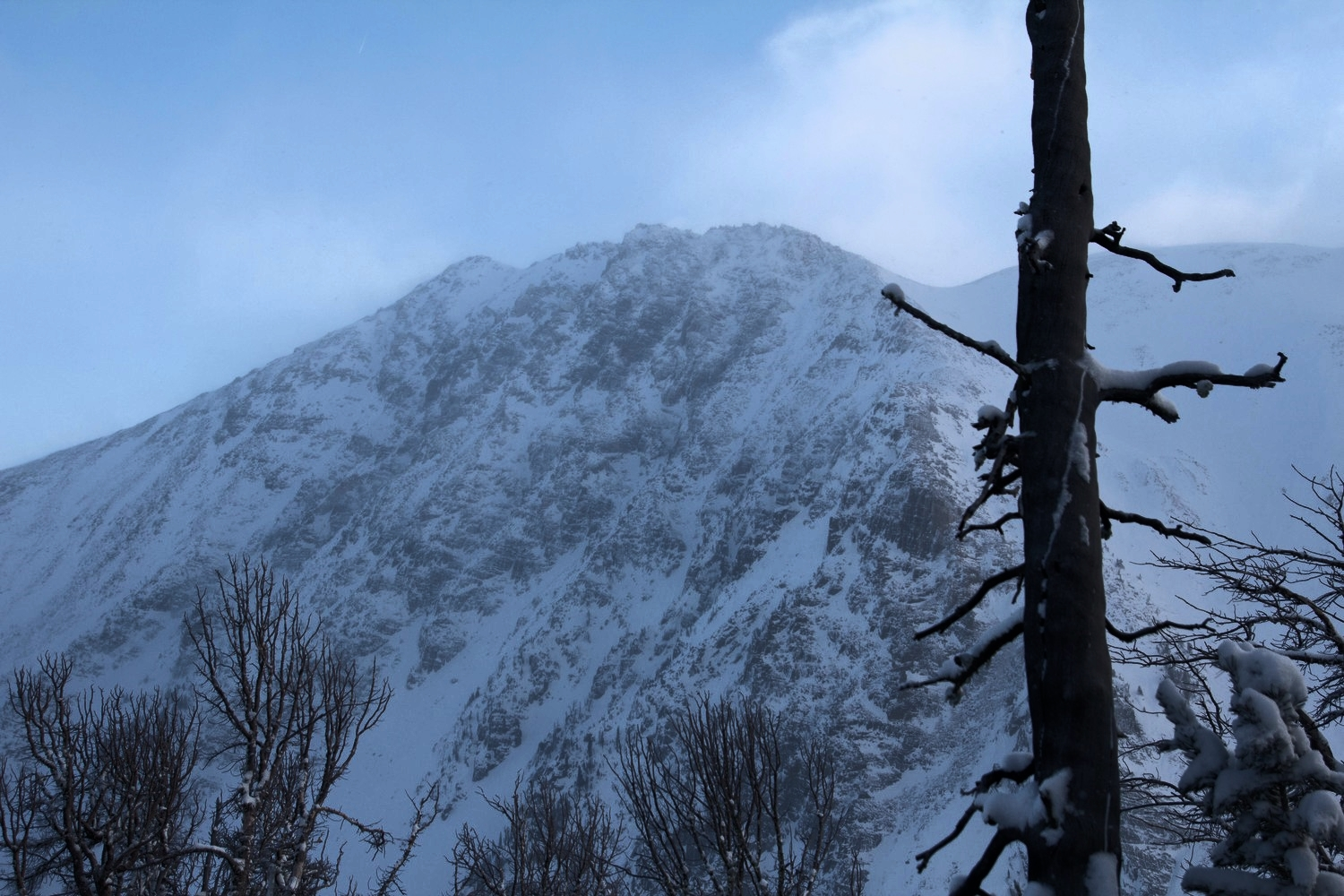 Bell Lake Yurt avalanche courses.