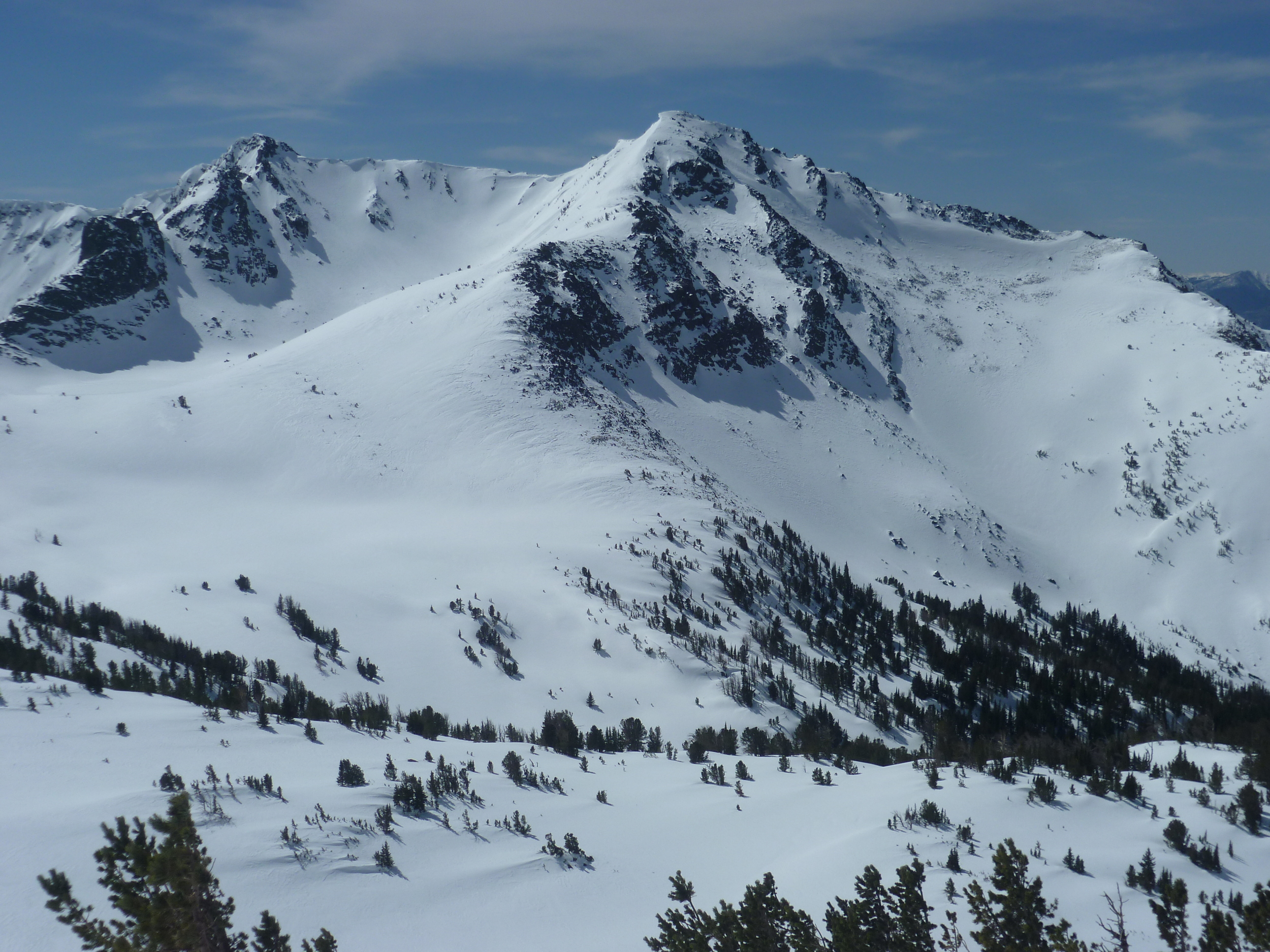 Skiing and splitboarding heaven in every direction.