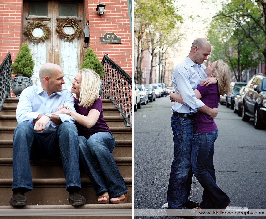 Stacy and John Engagement NYC