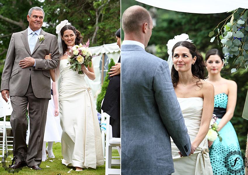 wedding ceremony - Claremont Hotel in Southwest Harbor, Maine