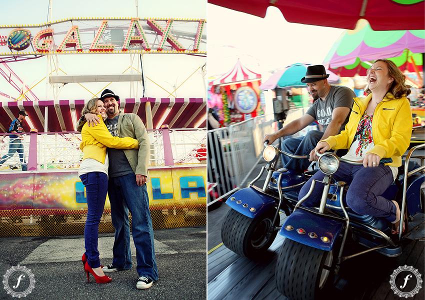fun engagement photos