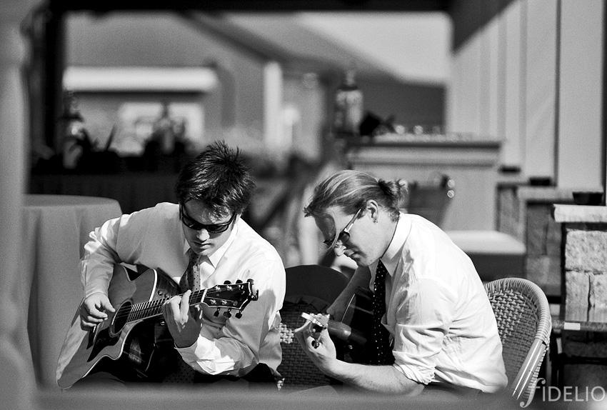 musicians at red barn inn