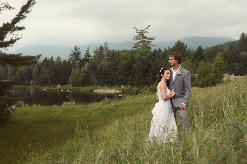 wedding white mountains