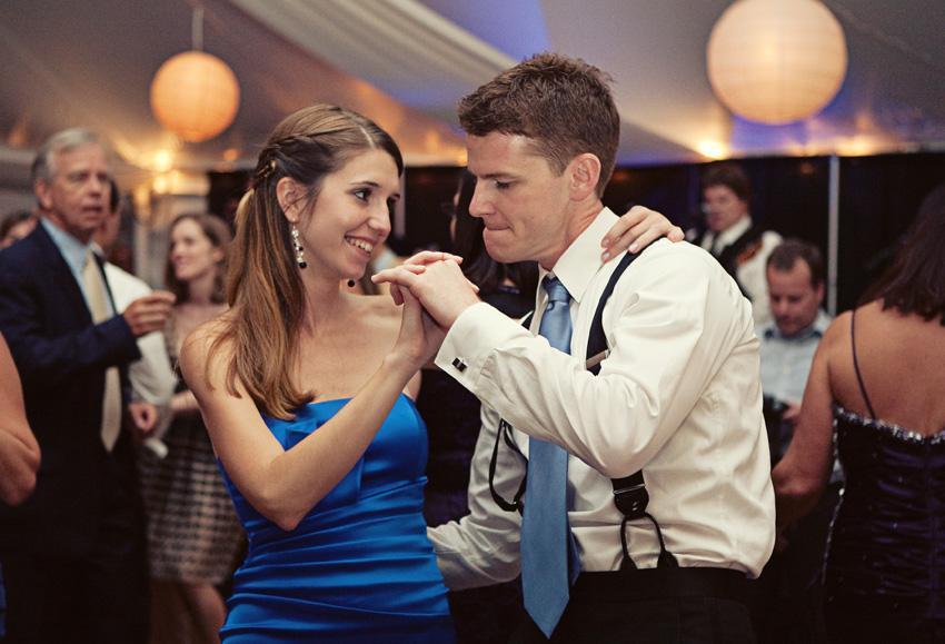 family dancing - Hildene Wedding