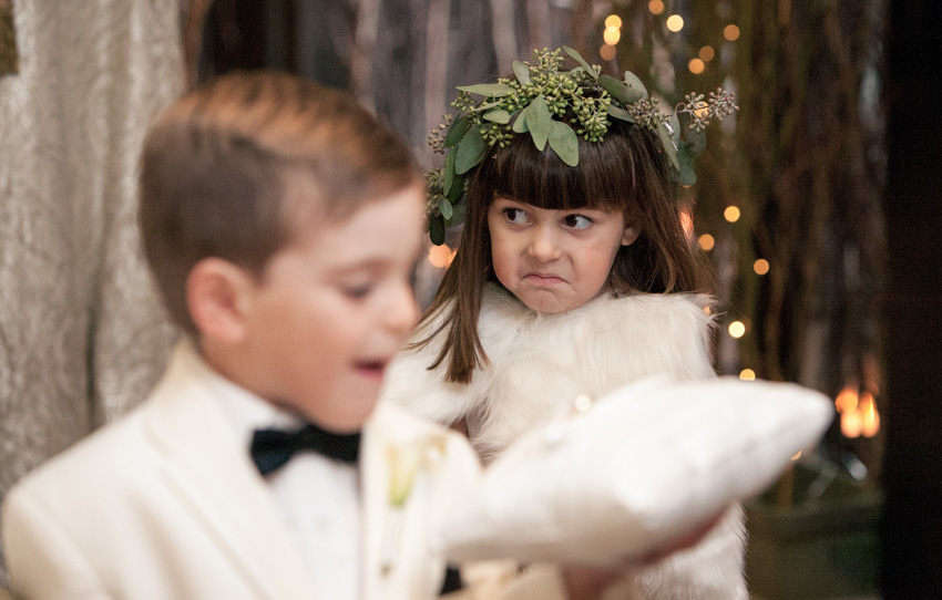 flower girl & ringbearer