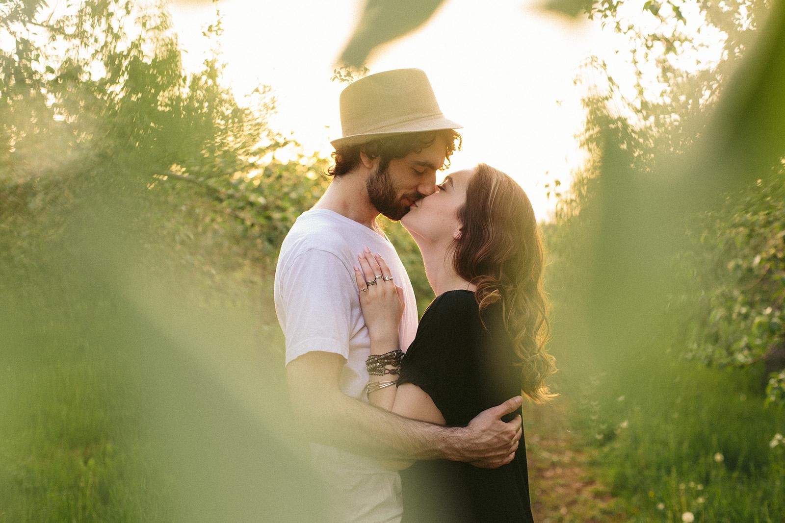 engagement photos maine