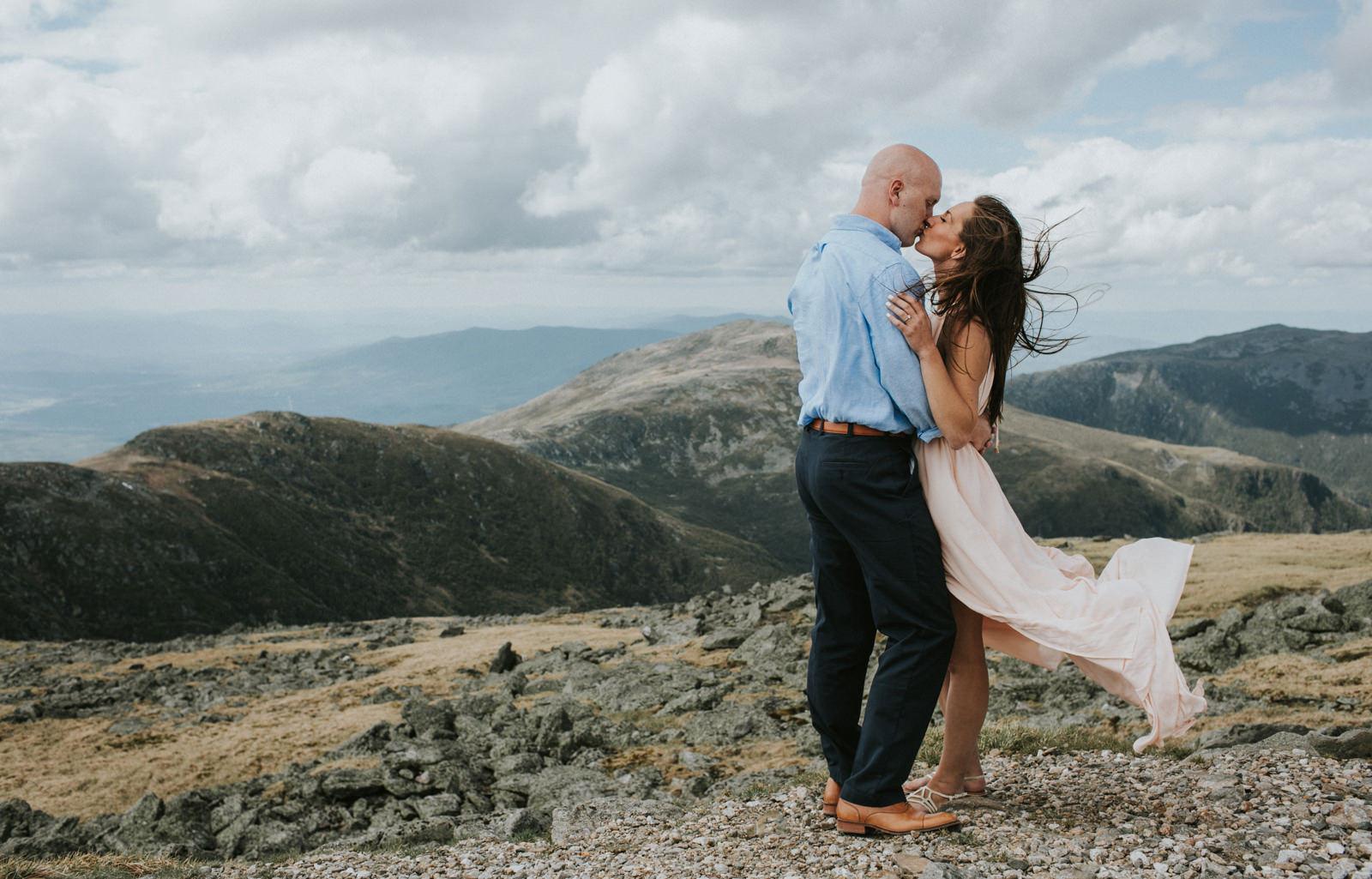 new hampshire engagement photo