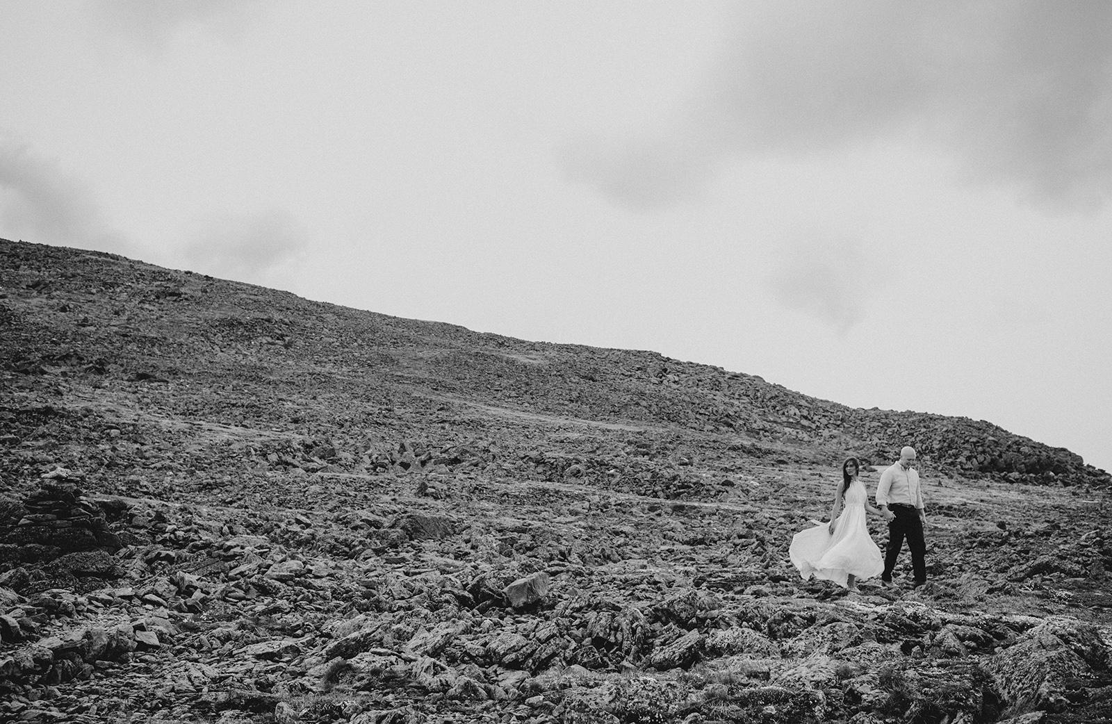 mountain engagement shoot
