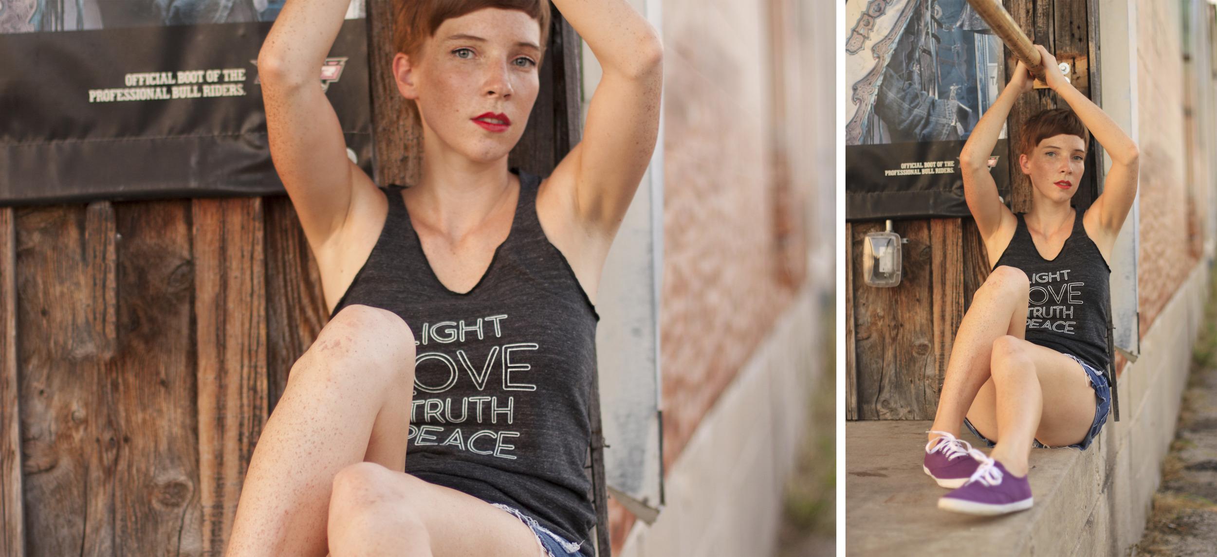 Light Love Truth Peace Tee