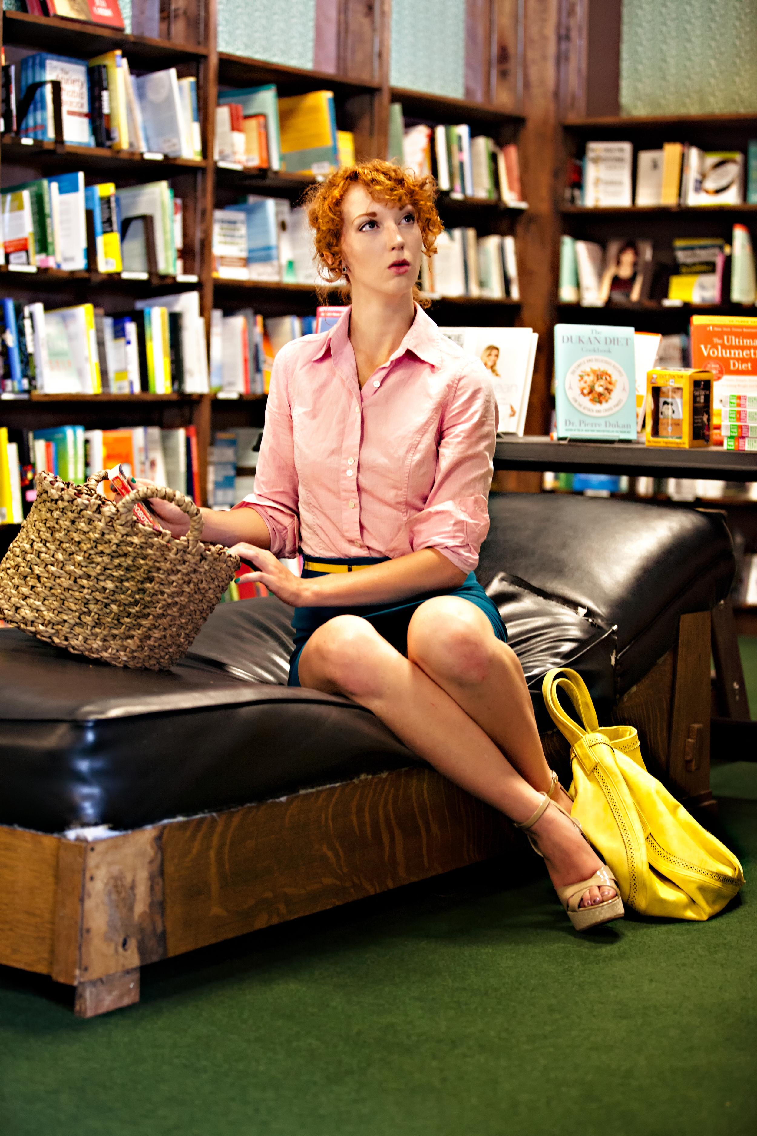Photographer: Vidhi Thakur  Model: Liv Houser Location: Tattered Cover Book Store,  Denver, Colorado