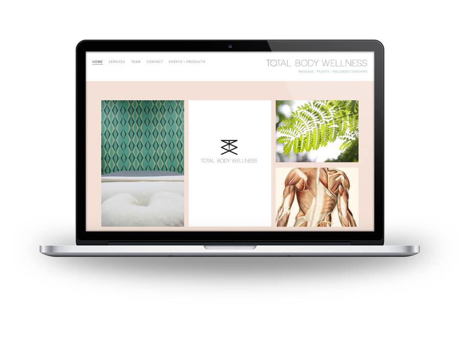 Total Body Wellness  , Logo, Website Design, Content Marketing, Email Design, and Social Media. Link to site here .