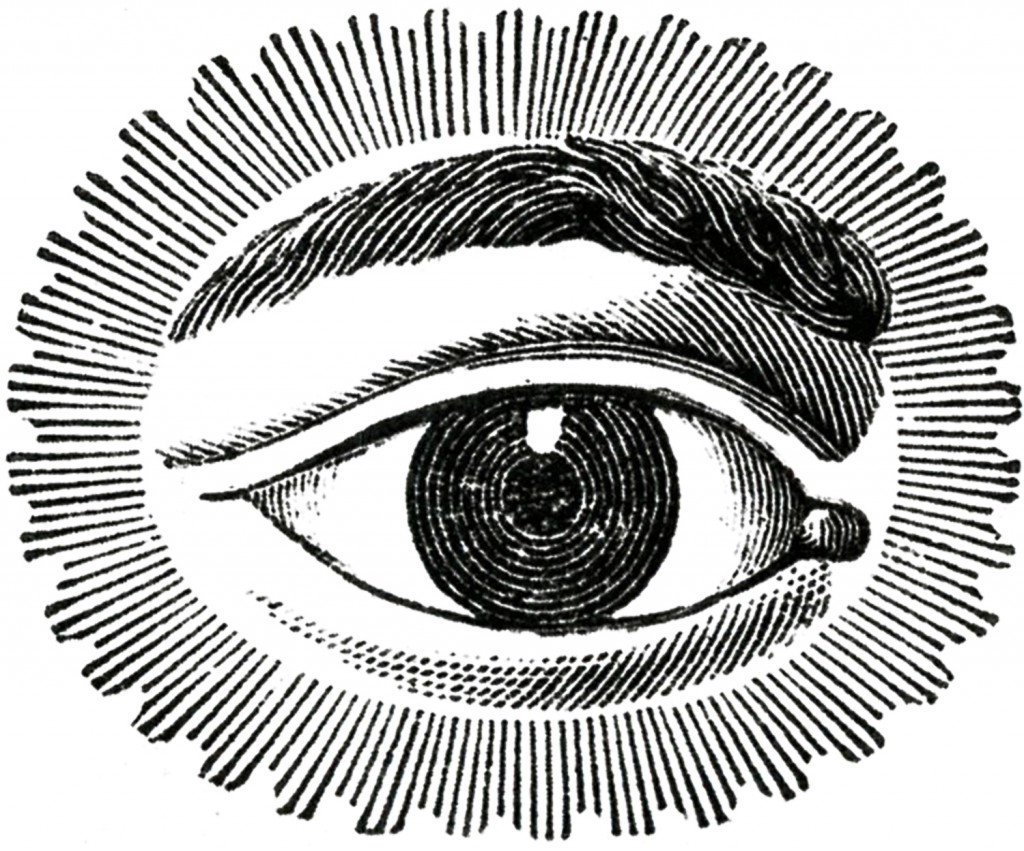 Vintage Watching Eye from The Graphics Fairy