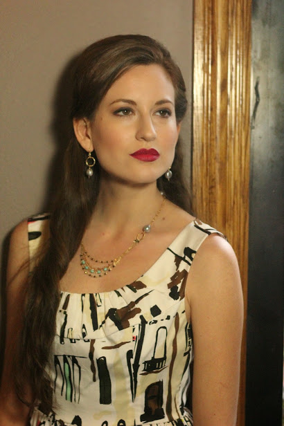 Dress: Kate Spade
