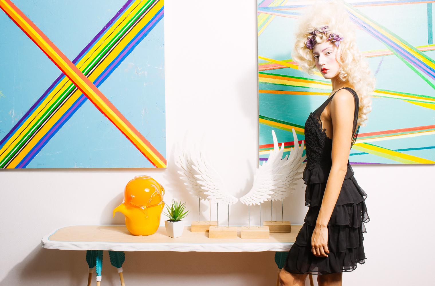 Model: Olivia Jordan Dress: Ivana Krejci