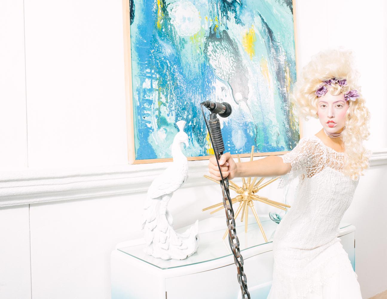 Model: Olivia Jordan Dress: Ivana Krejci Jewelry: Eliza Page