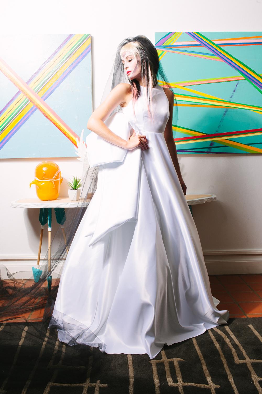 Model: Kaylene Ball / Clothing: Daniel Esquivel / Jewelry: Eliza Page