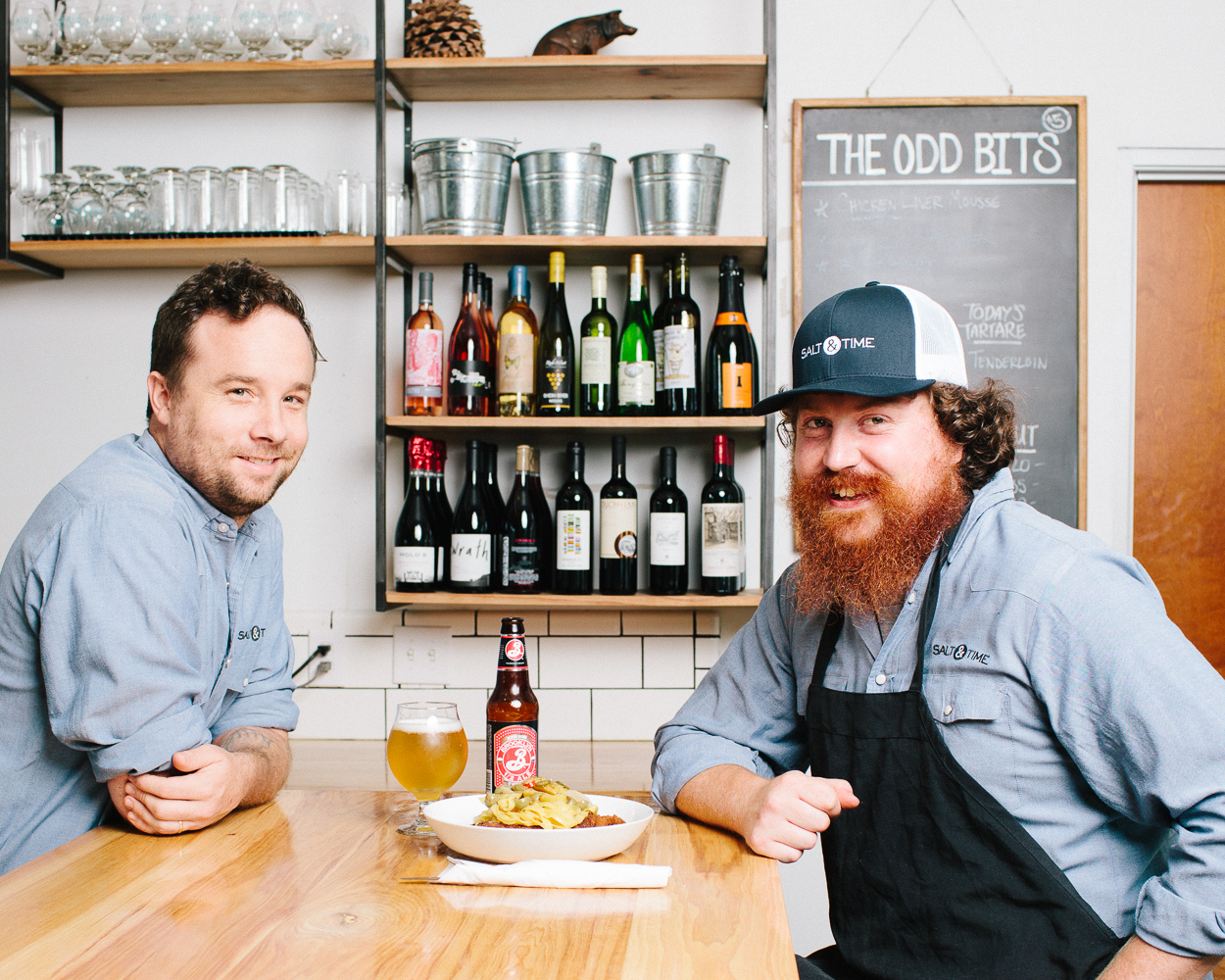 Co-owner: Ben Runkle & Head Chef: Josh Jones