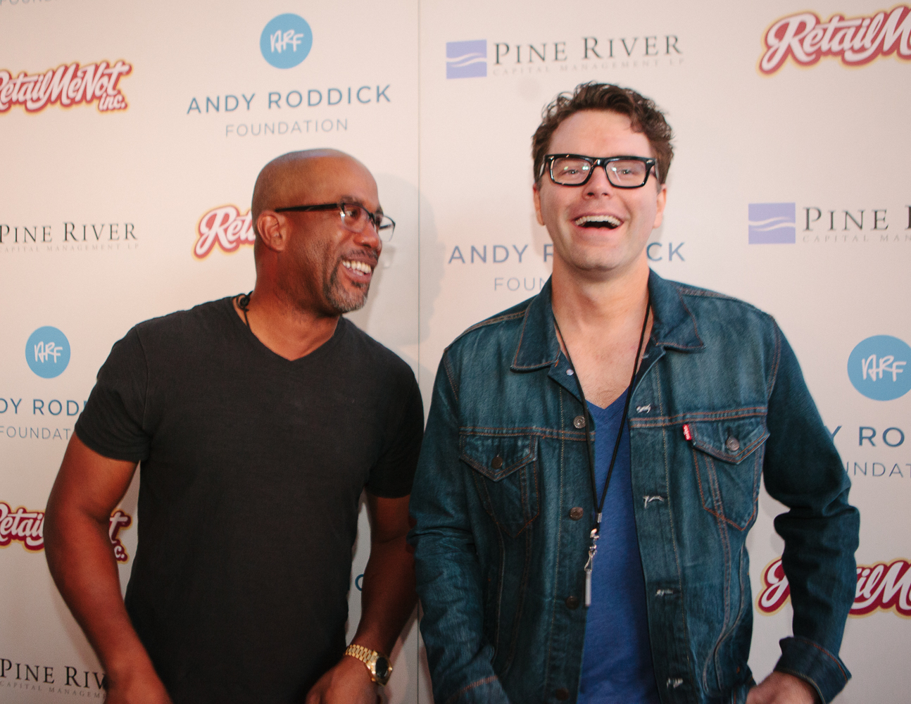 Darius Rucker and Bobby Bones