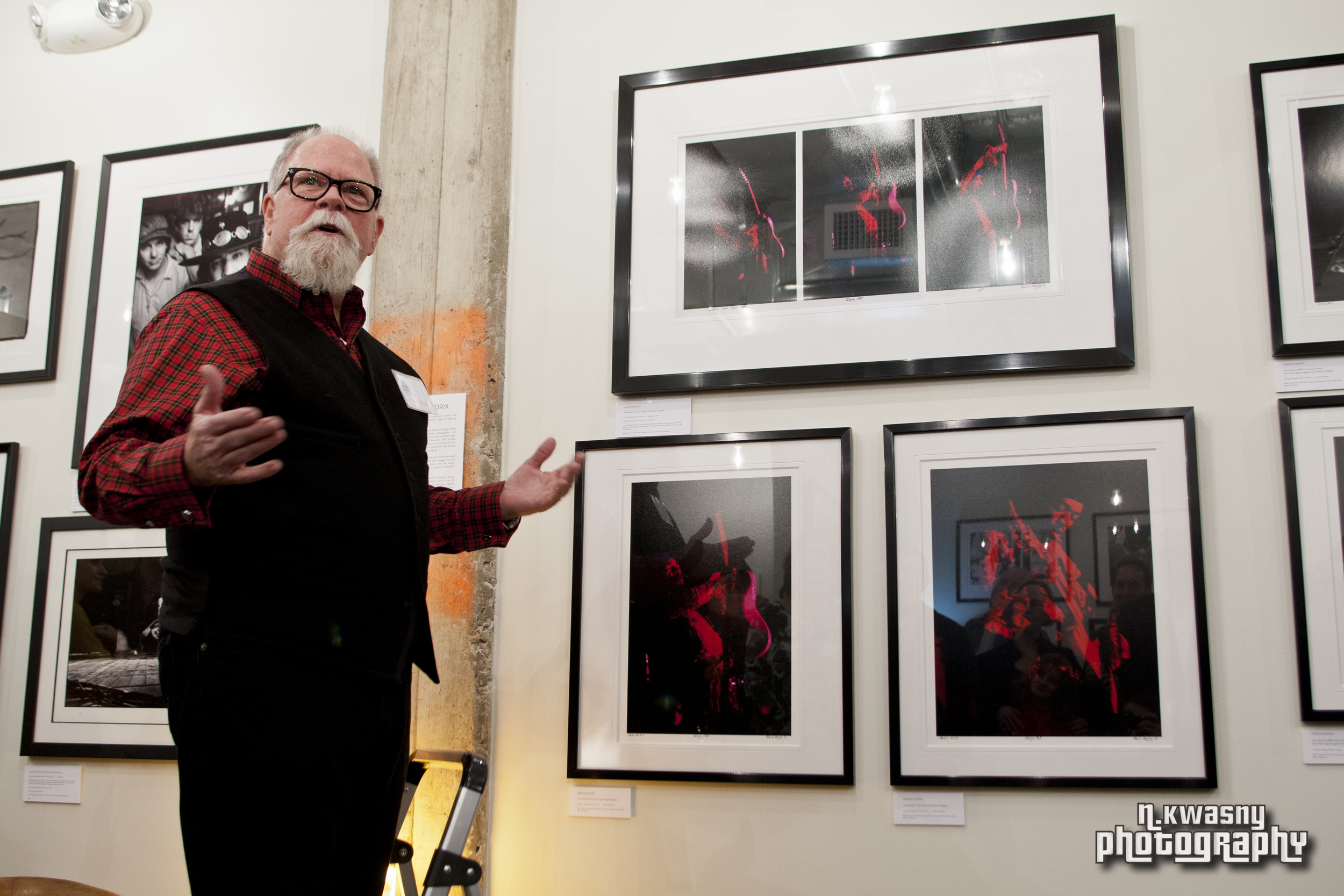 Photographer Robert Hewgley