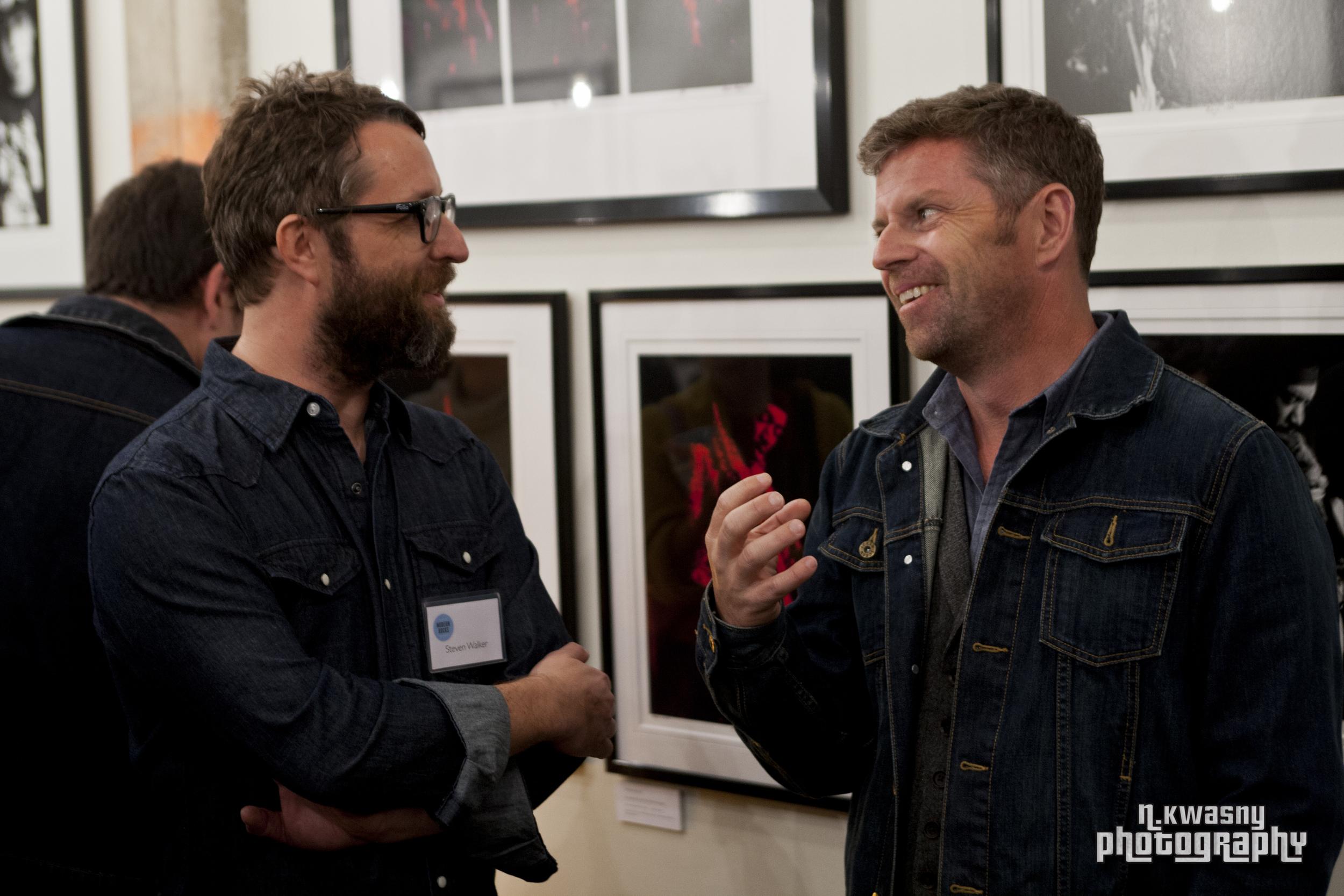 Steven Walker and Dave Holmes