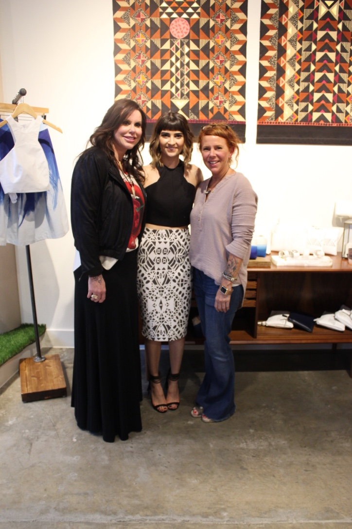 kiki nass Owner Julie Davis, s.t.e.f designer Stephanie Montes, kiki nass GMM Joannah Hillebrandt.jpg