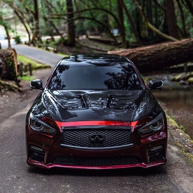 Thanks @loo_q50s for the nice pics of this Dramaspeed stingray hood for the Q50s #dramaspeed @official_dramaspeed #infiniti #infinitiq50s #vqfamily #nissan @infiniti #q50 #carbonfiber #fiberglass #madeinamerica #onestopshop #instock #carlifestyle #carlife #shoplife #performance #aerokit #gardena #torrance #carandbikeshow #dailydriven #fuzionteknique #stingray #hood #fenders #vented