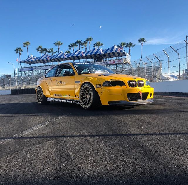 This past weekend at Long Beach Grand Prix e46 ls drift car @andrew4reel #bmw #e46 #ls1 #drift #driftcar #longbeach #longbeachgrandprix #pic #3m #wrap #carwraps #m3 #coupe #socal #southbay #torrance #gardena #thelbc #carsandbikes #fuzionteknique #drifting #euro #eurocar #americanmotors #carsofinstagram #performance #ilovela