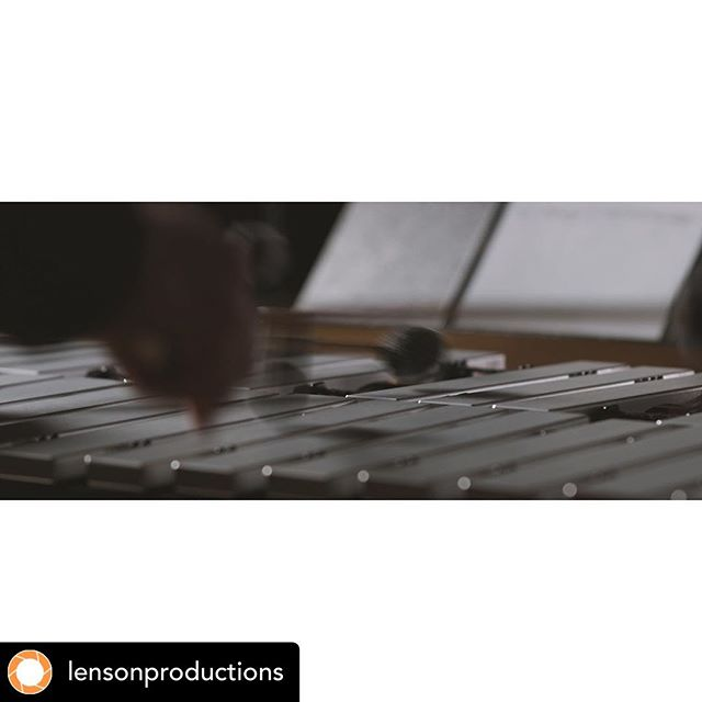 • @lensonproductions @houseofglockenspiel @hocketensemble Getting ready for new performance videos to drop! Featuring awesome works by @hitomimusic & @houseofglockenspiel for our first installment of our Composer/Performer Initiative. Keep an 👁 out...they're coming soon!