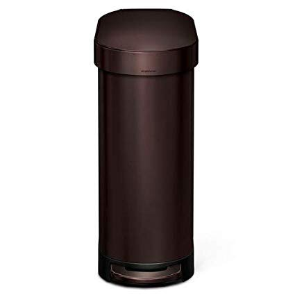 If you click this  link  to buy this wonderful, awfully expensive trash can I will get compensated a dollar or so toward my own, awfully expensive trash can. Aren't Amazon Affiliate programs great?  In fact, if you buy anything, even the  cheap liners , it will reward me as well.