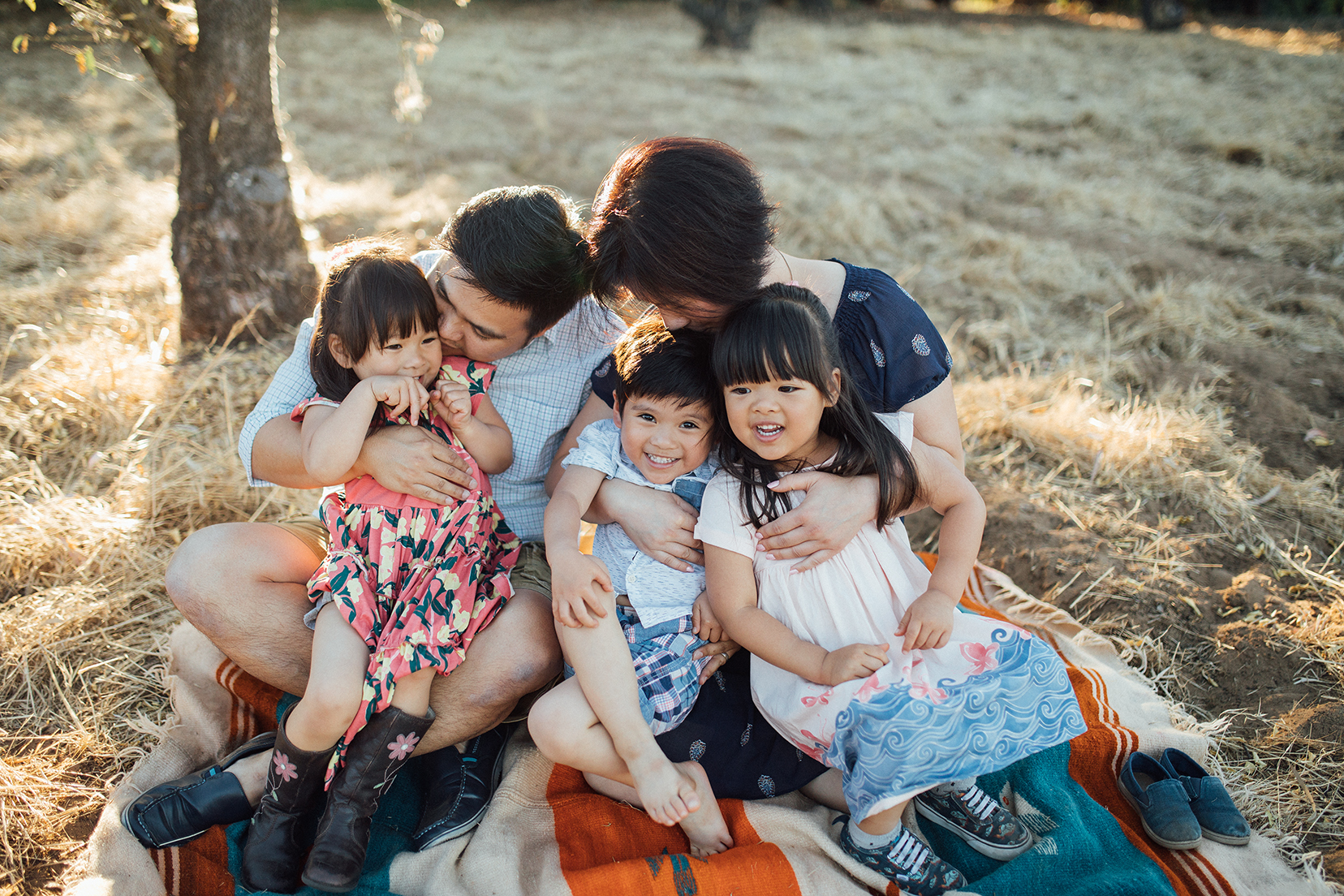 The most important thing in the world is familyand love. - Click cute triplets for more.